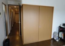 リビングと和室の間の戸襖交換